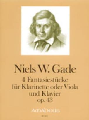 Niels Wilhelm Gade - 4 Fantasiestücke op. 43 - Partition - di-arezzo.fr