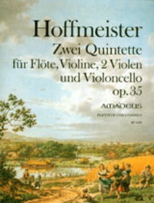 2 Quintettes Op. 35 -flöte Violine 2 Violen Cello - laflutedepan.com