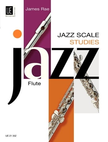 Jazz Scale Studies - Flute - James Rae - Partition - laflutedepan.com