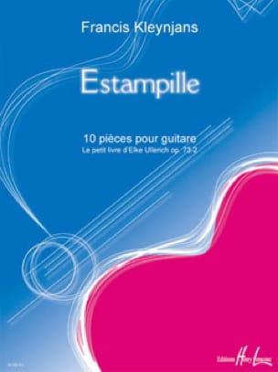 Estampille op. 73-3 - Francis Kleynjans - Partition - laflutedepan.com