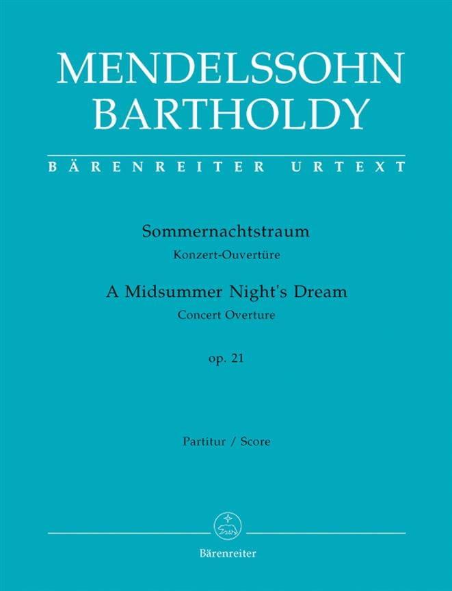 Sommernachtstraum - Ouvertüre - Partitur - laflutedepan.com