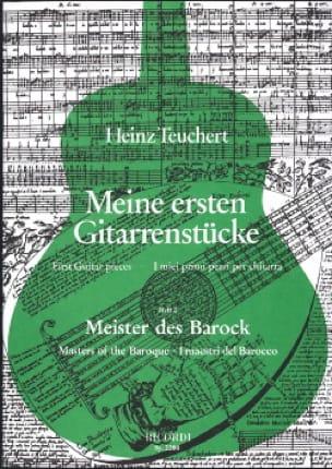 Meine Ersten Gitarrenstucke-Heft 2 : Meister Der Barock - laflutedepan.com