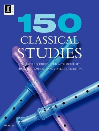 150 Classical Studies - Alto recorder - laflutedepan.com