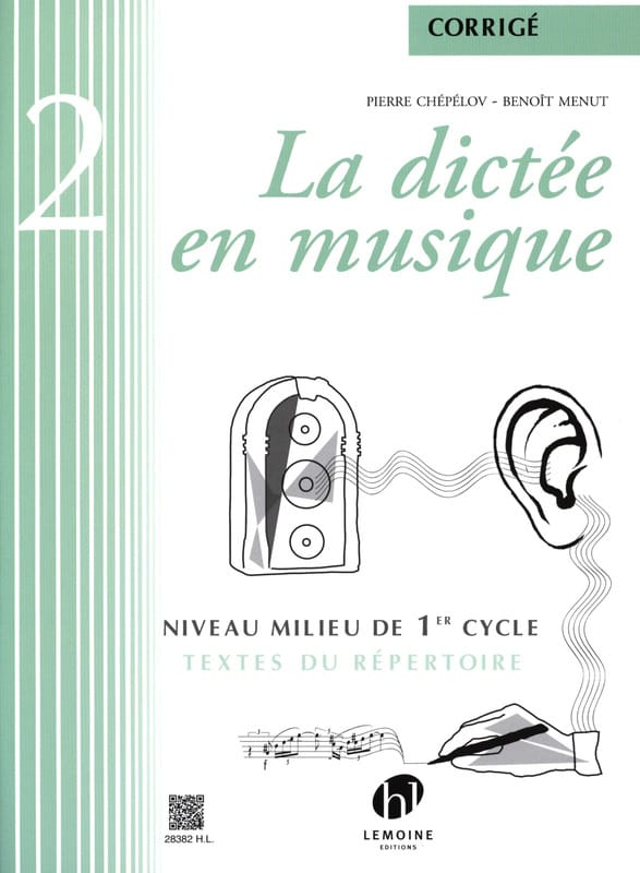 Pierre CHEPELOV et Benoit MENUT - The Dictation in Music - Answer Key - Volume 2 - Partition - di-arezzo.co.uk