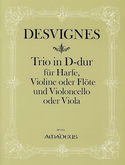 Trio D-Dur -Harfe Violine Violoncello - laflutedepan.com