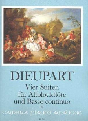 Charles François Dieupart - 4 Suiten für Altblockflöten u. Bc - Partition - di-arezzo.fr