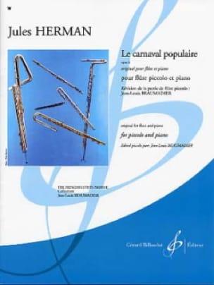 Le carnaval populaire op. 6 - Jules Herman - laflutedepan.com