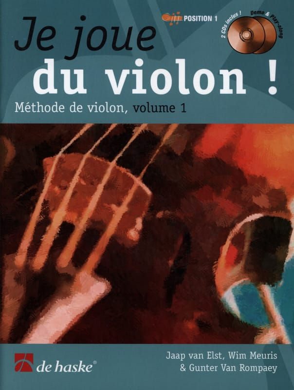 DE HASKE - I play the violin - Volume 1 - Partition - di-arezzo.com