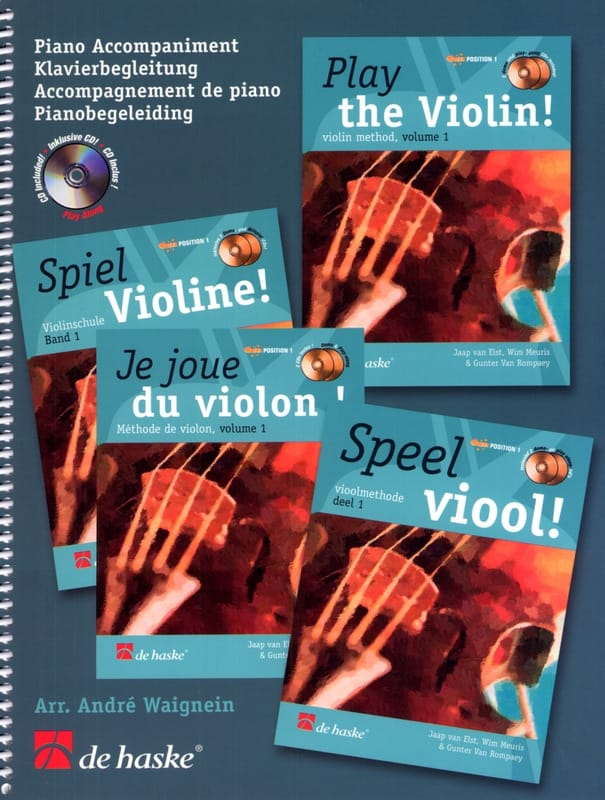 - I Play Violin - Piano Accompaniment - Partition - di-arezzo.com