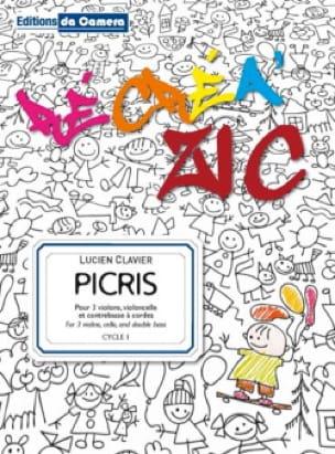 Picris - Lucien Clavier - Partition - laflutedepan.com