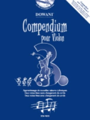 - Compendium For Violin Vol.3 - Partition - di-arezzo.com