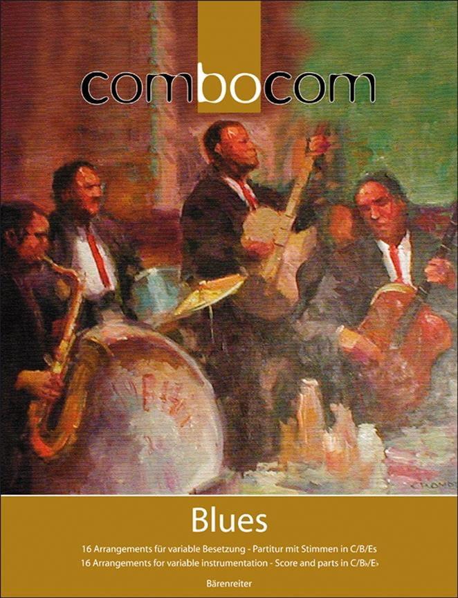 Combocom - Blues - Berthold Kloss - Partition - laflutedepan.com
