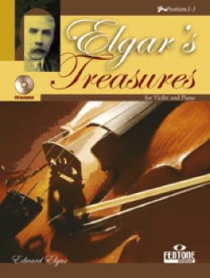 Elgar's Treasures - ELGAR - Partition - Violon - laflutedepan.com