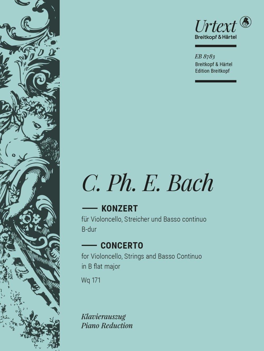 Concerto B Dur - Wq. 171 - laflutedepan.com