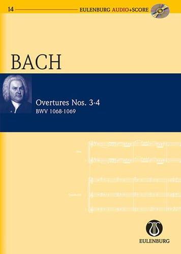 Ouvertures Suites N° 3-4 BWV 1068 et 1069 - BACH - laflutedepan.com