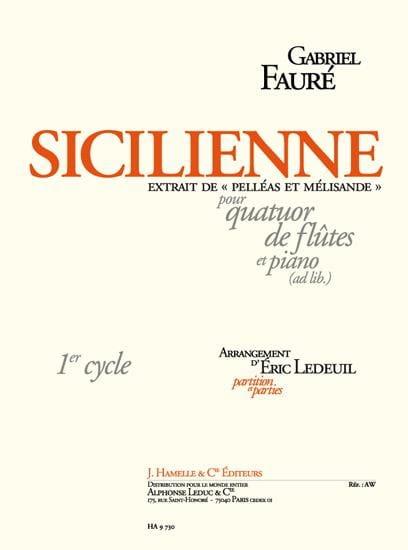 Sicilienne de Pelléas et Mélisande - FAURÉ - laflutedepan.com
