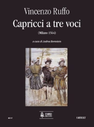 Capricci a tre voci - Vincenzo Ruffo - Partition - laflutedepan.com