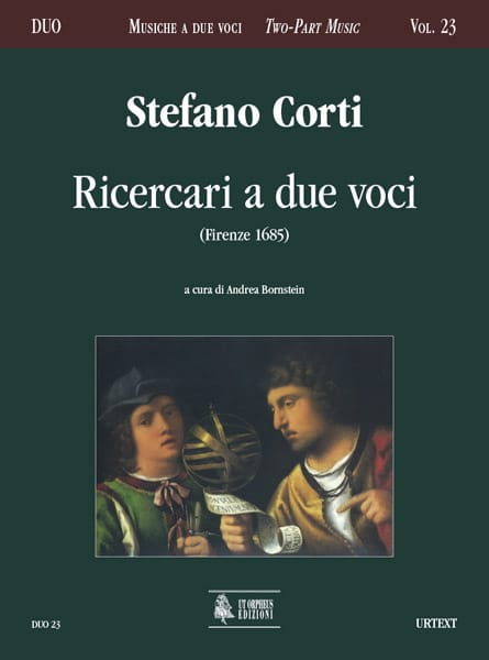 Ricercari a due voci - Stefano Corti - Partition - laflutedepan.com