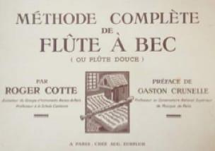 Méthode Complète de Flûte Alto - Roger Cotte - laflutedepan.com