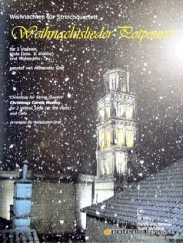 Weihnachtslieder-Potpourri -Partitur + Stimmen - laflutedepan.com