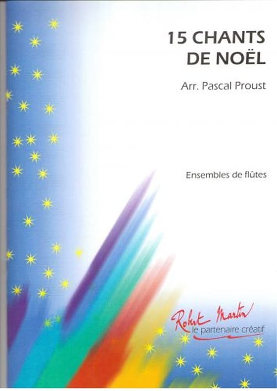 Pascal Proust - 15 Christmas carols - Partition - di-arezzo.co.uk