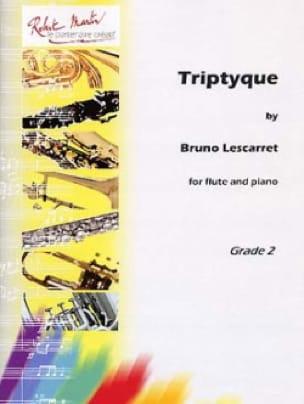 Triptyque - Bruno Lescarret - Partition - laflutedepan.com