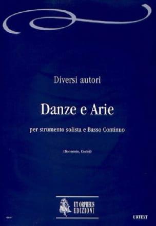 Danze e Arie - Partition - Flûte à bec - laflutedepan.com