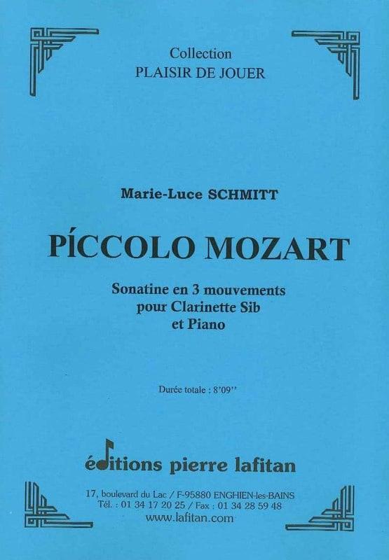 Piccolo Mozart - Marie-Luce Schmitt - Partition - laflutedepan.com