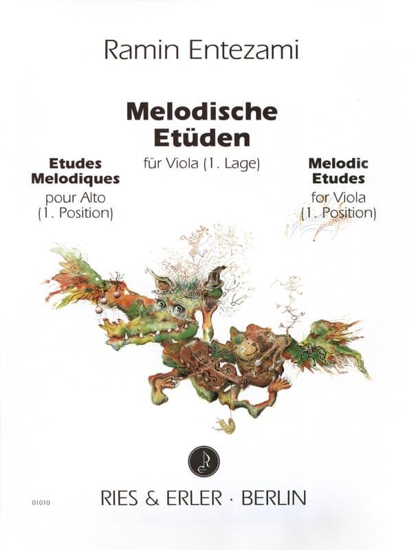 Etudes Mélodiques Volume 1 - Ramin Entezami - laflutedepan.com