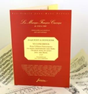 6 Concertos pour 5 flûtes - BOISMORTIER - Partition - laflutedepan.com
