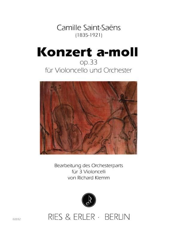 Concerto A Moll Op.33 - SAINT-SAËNS - Partition - laflutedepan.com