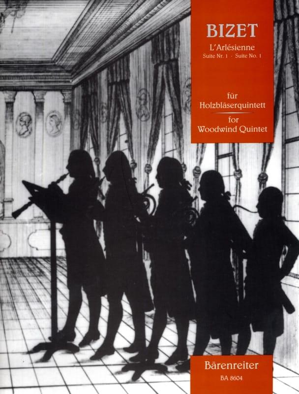 BIZET - L'Arlésienne - Suite n ° 1 - Holzbläserquintett - Partitur Stimmen - Partition - di-arezzo.de