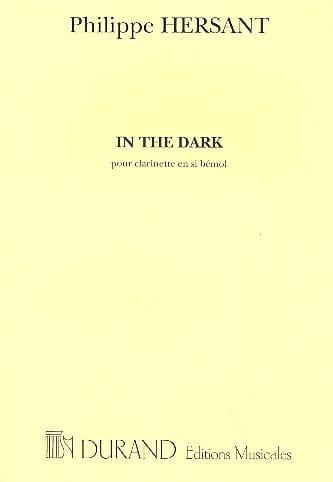 In the Dark - Philippe Hersant - Partition - laflutedepan.com