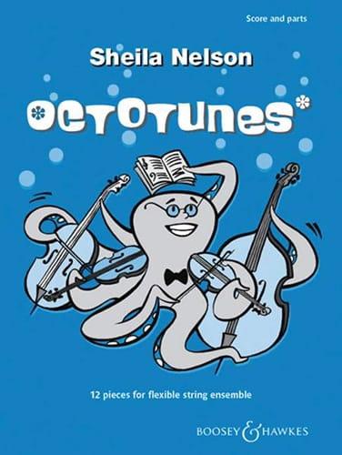 Octotunes - Sheila M. Nelson - Partition - Violon - laflutedepan.com