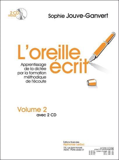 L' Oreille Ecrit - Volume 2 + 2 CDs - laflutedepan.com