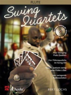 Swing quartet - 4 Flutes - Bert Lochs - Partition - laflutedepan.com