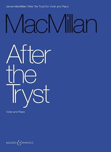 After The Tryst - Millan Mac - Partition - Violon - laflutedepan.com
