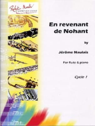 Jérôme Naulais - Returning from Nohant - Flute and Piano - Partition - di-arezzo.com