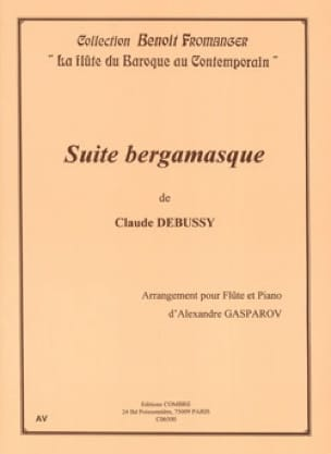 Suite Bergamasque - DEBUSSY - Partition - laflutedepan.com