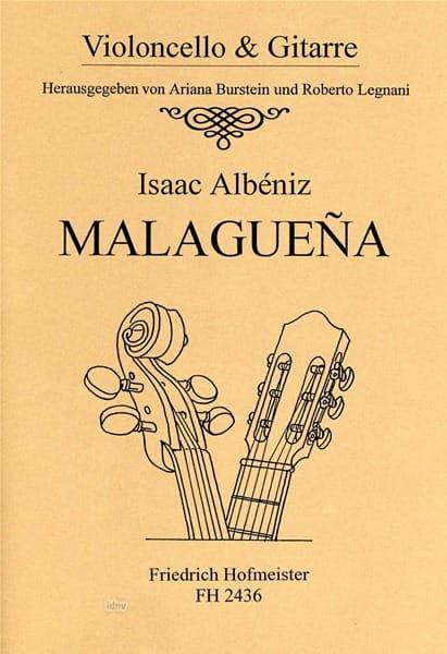 Malaguena - ALBENIZ - Partition - 0 - laflutedepan.com