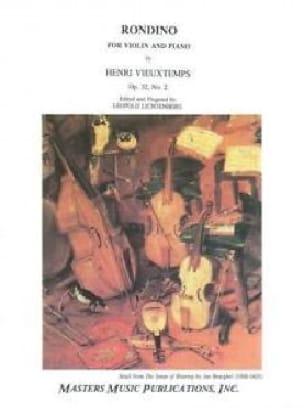 Rondino Op 32 N°2 - VIEUXTEMPS - Partition - Violon - laflutedepan.com