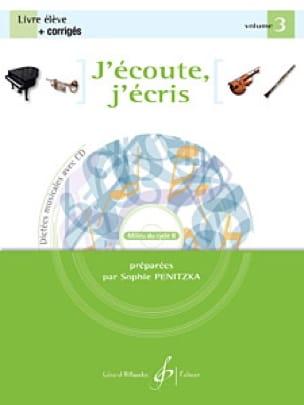 Sophie Penitzka - I listen, I write Volume 3 - Partition - di-arezzo.co.uk