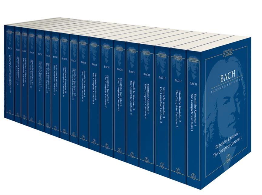 Intégrale des Cantates, Chorals et Motets 19 Volumes - laflutedepan.com