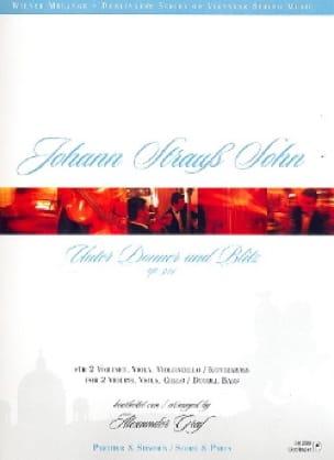 Unter Donner und Blitz op. 324 -2 Vln Va V/Kb - Paritur + Stimmen - laflutedepan.com