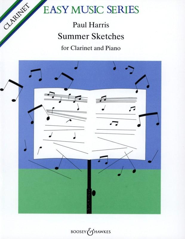 Summer Sketches - Paul Harris - Partition - laflutedepan.com