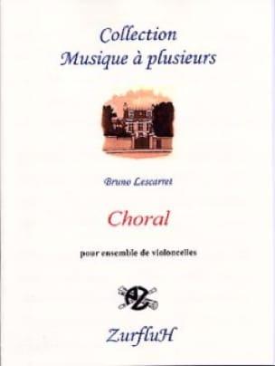Choral -4 Violoncelles - Bruno Lescarret - laflutedepan.com