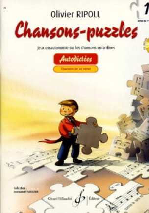 Chansons-Puzzles - Volume 1 - Olivier RIPOLL - laflutedepan.com