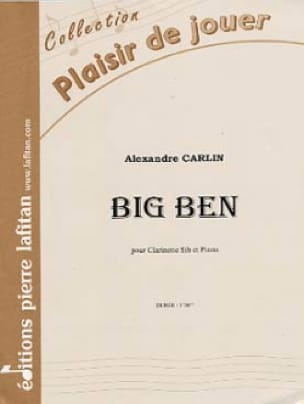 Alexandre Carlin - Big Ben - Partition - di-arezzo.co.uk