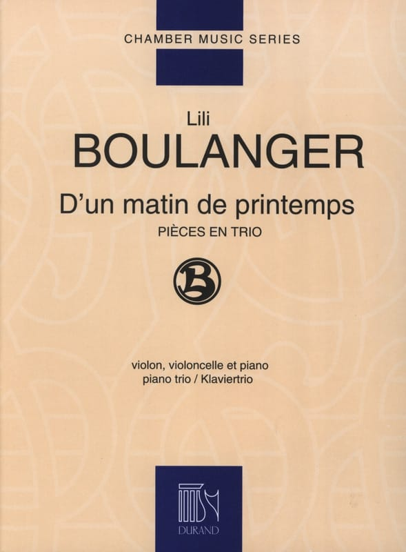 Lili Boulanger - One spring morning - Partition - di-arezzo.co.uk