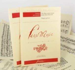 François Devienne - 6 Concertant Duos For 2 Bassoons - Partition - di-arezzo.com